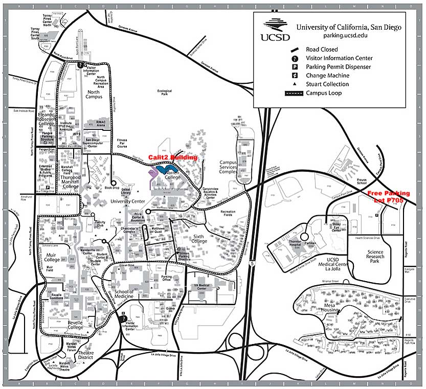 Campus Map Ucsd UCSD Campus Map